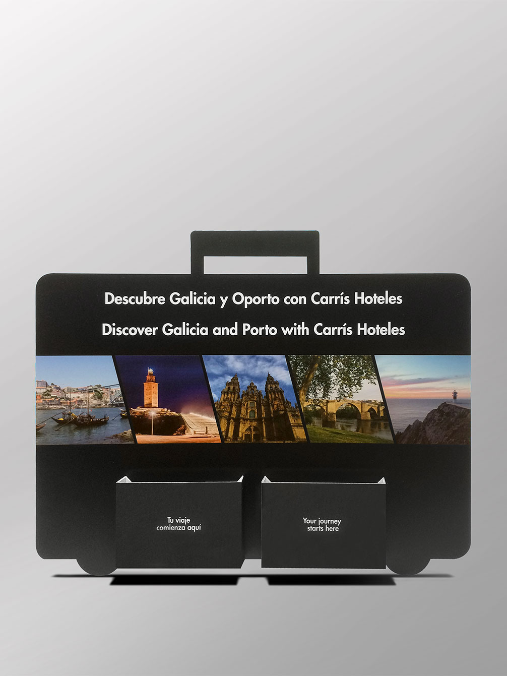 Display Carris Hoteles + Folletos