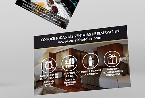 Flyer Hoteles Carrís